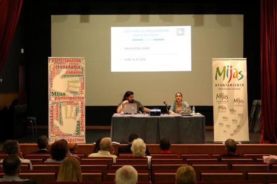 Presentación de los Presupuestos Participativos de Mijas